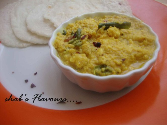 egg mappas with pathiri